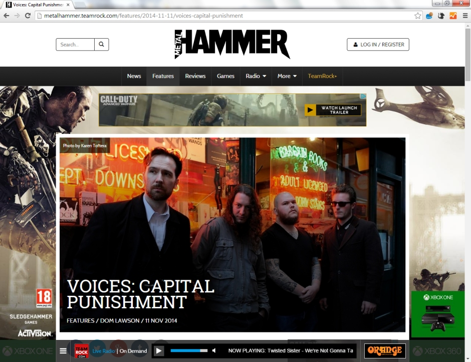 Voices Metal Hammer