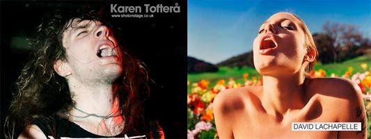 Skull Fist Karen Toftera Angelina Jolie Dave La Chappelle