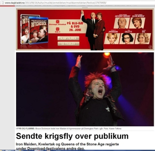 Iron Maiden Download Festival Dagbladet