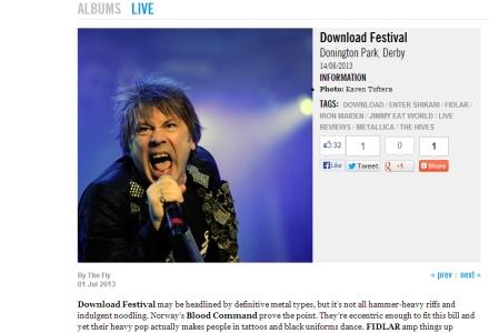 Iron Maiden Download Festival