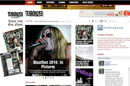Terrorizer Magazine Photoblog from Blastfest 2014