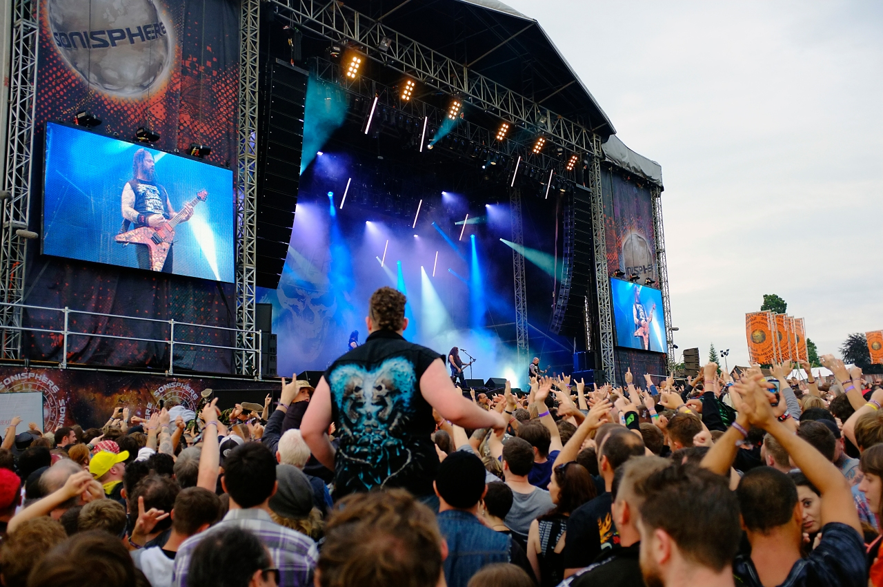 Sonisphere Festival, Knebworth, Slayer