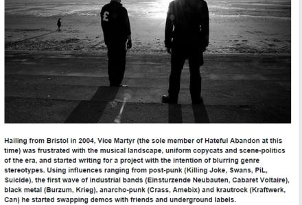Hateful Abandon New Candlelight Records signing - Karen Toftera