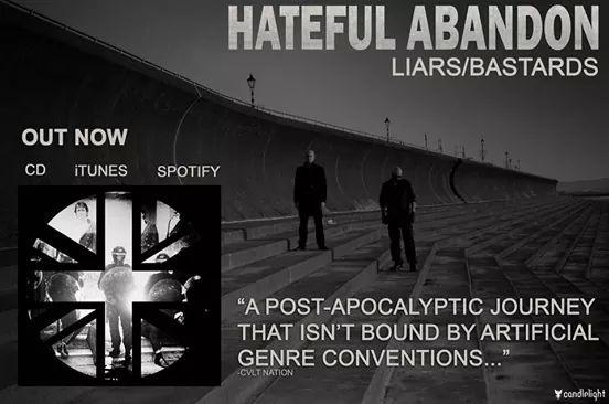 Hateful Abandon promo shoot Karen Toftera