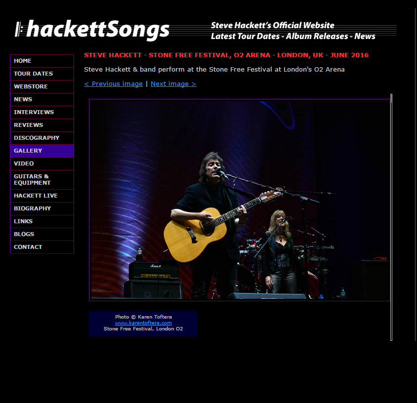 Steve Hackett at the o2 London