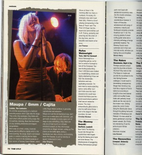 8mm The Fly Magazine Karen Toftera