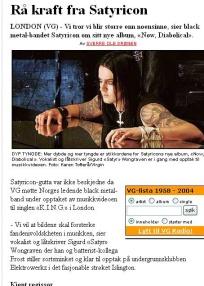 Satyricon VG